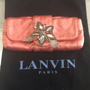 Authentic Vintage Lanvin Evening Clutch
